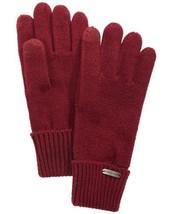 Steve Madden Solid Boyfriend Itouch Gloves Maroon – Dark Red, One Size - $19.68