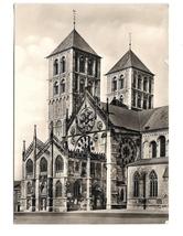 Germany St Paulus Dom Paradies Munster Cathedral Westfalen Vintage 4X6 P... - $4.99