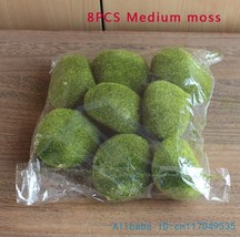 1 pack Artificial Moss Foam Stone Green Plant Home Decoration F340 - €8,83 EUR