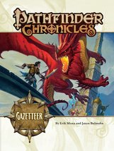 Pathfinder Chronicles: Gazetteer [Paperback] [May 27, 2008] Mona, Erik a... - $7.96