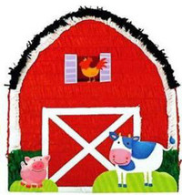 Farm Barn Pull String Pinata - $14.49