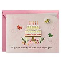 Hallmark Paper Wonder Paper Craft Birthday Card Happy Surprises - $5.07