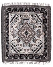 #5000 Native American Southwest Design Diamond Navajo Accent Throw Blank... - $40.88