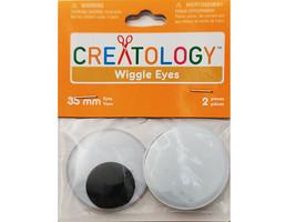 Creatology Wiggle Eyes, Set of 2, 35mm #10044326