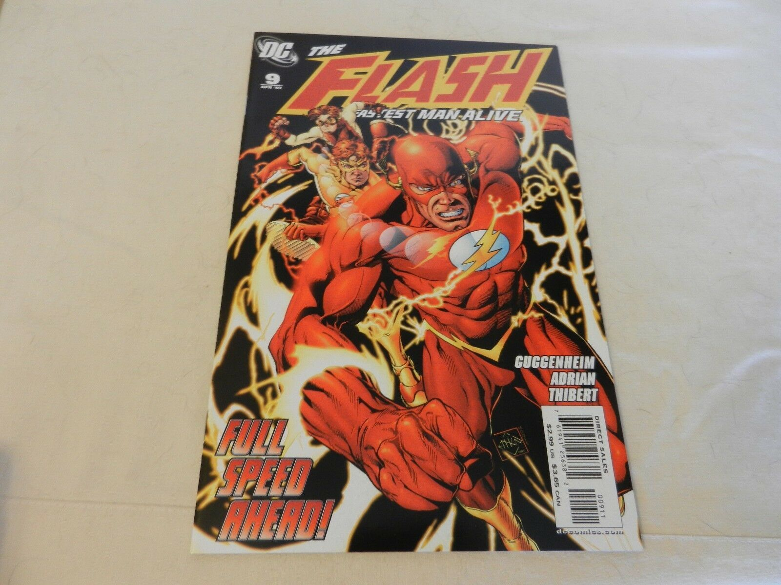 The Flash The Fastest Man Alive Full Speed Ahead! DC Comics #9 April 2007