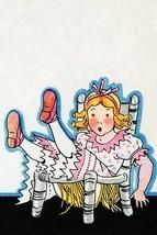 Goldilocks breaks Baby bear's chair by Julia Letheld Hahn - Art Print - $19.99+