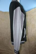 Marvel Youth Black and Gray Long Sleeve Light Weight Jacket Size S 14 image 5