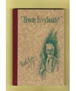 """Uncle Ezra"" (P. J. Barrett)'s ""Howdy Ev'vybuddy!"" Book of Poems & Thoug... - $30.00"