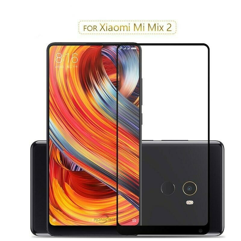 Primary image for Tempered Glass for Xiaomi Mi Mix 2 Mix 2S Full Cover black or white mix2 mix2s