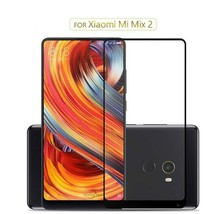 Tempered Glass for Xiaomi Mi Mix 2 Mix 2S Full Cover black or white mix2... - $4.68