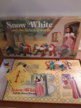 Vintage Cadaco Snow White and The Seven Dwarfs Board Game Ages 4 to 10 - $19.75