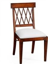 Dining Chair JONATHAN CHARLES WINDSOR Regency Lattice Back - $1,009.00