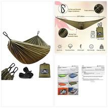 NatureFun Ultra-Light Travel Camping Hammock | 300kg Load Capacity,(275x... - $34.98