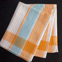 Extra Long French Gaufrex Tea Towel, 100% Cotton, Lint Free & Colorfast - $12.50