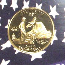 2005-S 25 Cent Proof State Quarter - California -  George Washington - $5.95
