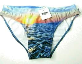 Moschino Velmar Spa Coulter Swim Briefs Sunset Sunrise Size Medium / 38  - $74.40