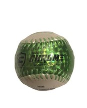 "Franklin Soft Strike Chrome Baseball Hollow Rubber Core 9"" 4 oz Green MLB - $6.79"
