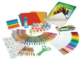 Crayola Giant Art Box 177pc Crayons Markers Colored Pencils Drawing Kids Art NIB image 2