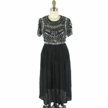 2 - Asos Maternity Black Short Sleeve $163 Beaded Embellished Dress NEW ... - $55.00