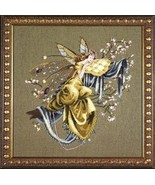 """MD80 """"Lily of the Woods"""" Mirabilia Chart With Embellishment Pack MD80E - $99.99"""