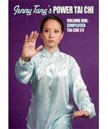 Power Tai Chi #1 Simplified 24 Form DVD Jenny Tang chen yang shanghai chuan - $23.00