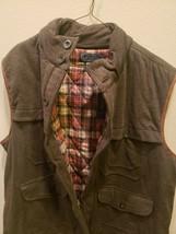 NWT $225 Polo Ralph Lauren Vest Puffer Jacket Size XL Dark Gray/Brown - $158.94