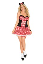 Miss Mouse Costume - Plus - $23.95