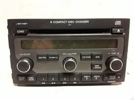 06 07 08 Honda Pilot AM FM satellite 6-disc CD radio receiver 4L1T-18C81... - $89.09