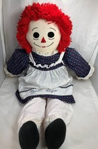 Raggedy Ann doll 37 inches Plushie Large Personalized or Named Marlie Alyce - $29.69