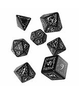 Elven Dice set Black/white (7) Board Game - $13.90