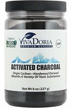Viva Doria Virgin Activated Charcoal Powder Food Grade (8 oz) - $12.99