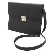 HERMES Clic 16 Veau Epsom Blue Indigo Wallet Shoulder Bag France #A - $2,470.05