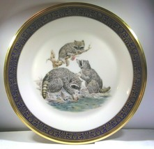 "Lenox Presents ""Raccoons"" Collector Plate by Boehm w/Original Box, 10 6/... - $56.99"
