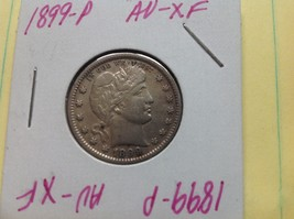 1899-P Barber Quarter ~Nice, Nearly UNC. REALLY Rare This Nice!  ☆Make A... - $99.99