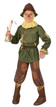 Child Scarecrow Wizard Of Oz Costume Newest Edition 886490 (12-14) - $28.88