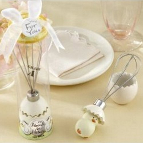 Primary image for About to Hatch Stainless-Steel Egg Whisk in Showcase Gift Box (pack of 5)