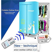Portable Clothes Dryer 1200W Electric Laundry Energy Saving Drying Rack - $185.02