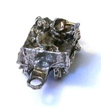 ORE CAR FIGURINE CAST WITH FINE PEWTER - Approx. 1 inches tall   (T165) image 6