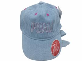 PUMA Evercat Adjustable Elastic Closure Fixed Bow Youth Blue Girl's Base... - $15.29