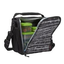 Lunch Bag Lunch Box Food Storage Bag Bottle Holder Container School Work... - $12.35