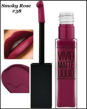 NEW Maybelline Color Sensational Vivid Matte Liquid Lipstick    Smoky Ro... - $6.95