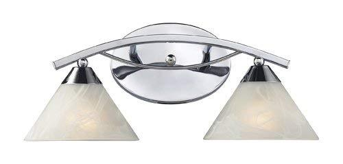 Elk 17021/2 Elysburg 2-Light Vanity In Polished Chrome