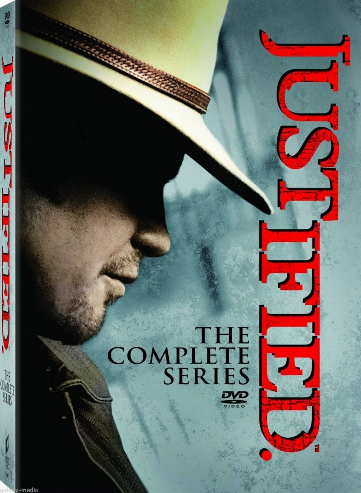 Justified Complete Series Box Set Season One-Six 1-6 (DVD, 2015) 1 2 3 4 5 6