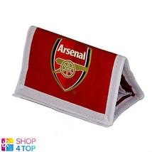 ARSENAL FC MONEY WALLET BIG LOGO RED OFFICIAL FOOTBALL SOCCER CLUB TEAM NEW - $11.08
