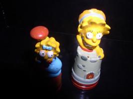 The SimpsonsLisa with hat and just Lisa Simpson  2 PVC Figurines - $19.99