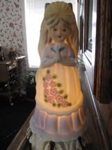 Vintage Darlene Little Girl - Underwriters Laboratories Portable Lamp Aladdin - $8.56