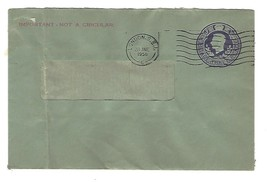 Honduras 5c Postal Stationery Prepaid Envelope HG 1 Entire Unused - $14.50