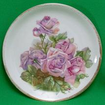 """Vintage (1925-1932) C.T. Altwasser (Germany) 8"""" Salad Plate With Roses - $4.95"""