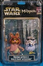 Star Wars Muppets Bunny Bean and Camille as Wicket the Ewok and Stormtro... - $59.35
