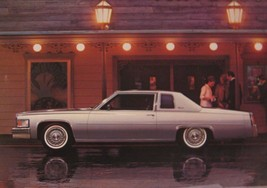 1977 Cadillac Coupe de Ville Original Large Dealer Post Card, Mint 77 - $4.68